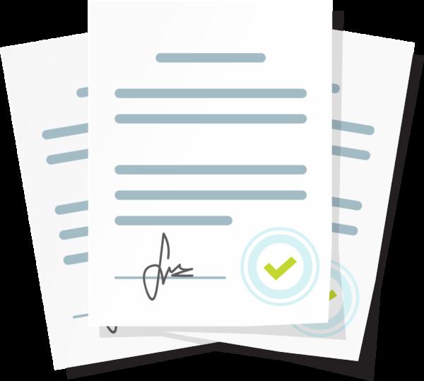 Palvelusopimus-paketti sisältää 3 eri sopimuspohjaa: palvelusopimuksen, avainten luovutussopimuksen ja perussiivouksen toimitusehdot.